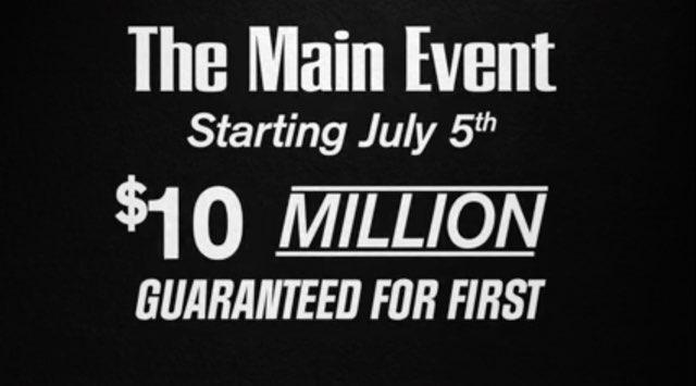 WSOP 2015 Spielplan MAin Event
