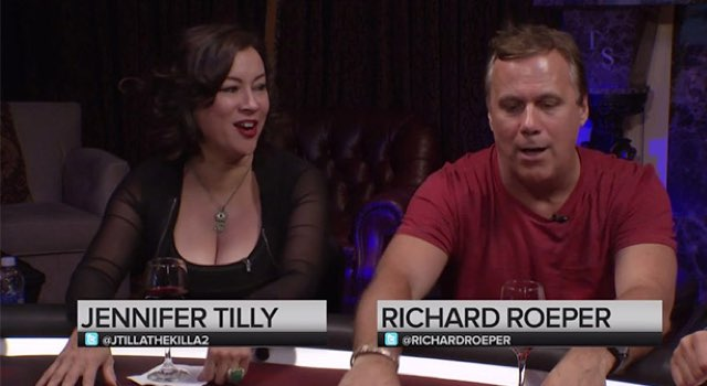 Jennifer-Tilly und Richard-Roeper