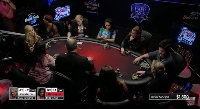 Poker Night in America Ladies Night