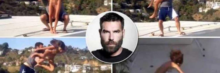 Dan Bilzerian postet Pornostar Weit Wurf Video