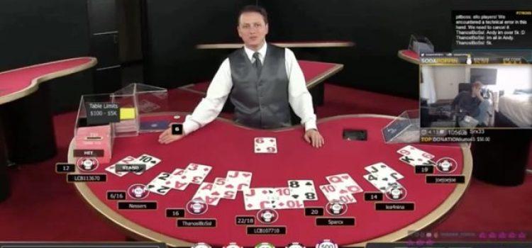 Twitch Streamer im Live Casino ausgerastet