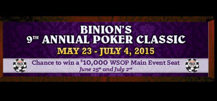 2015 Binion's 9th Annual Poker Classic