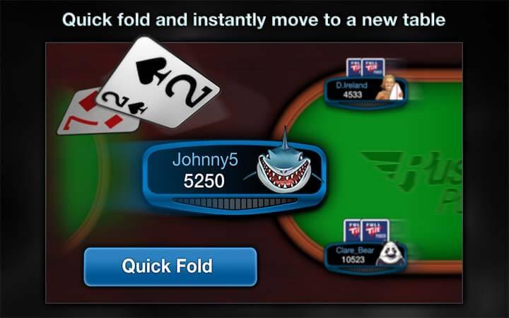 Rush Poker - die neue Poker Dimension bei Full Tilt Poker jetzt spielen