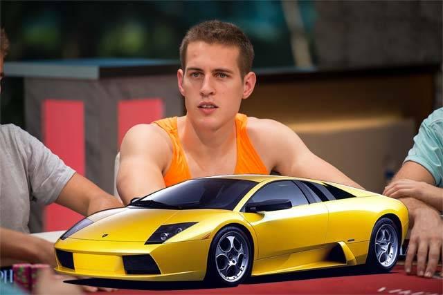 Mike McDonald steht auf  Lamborghini – vorzugsweise Gallardo